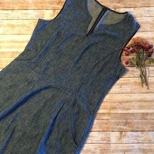 Theory Chambray Summer Dress Size 12